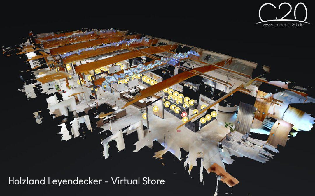 """Das virtuelle Einkaufserlebnis mit dem """"Virtual Shop"""" von concept.20"""